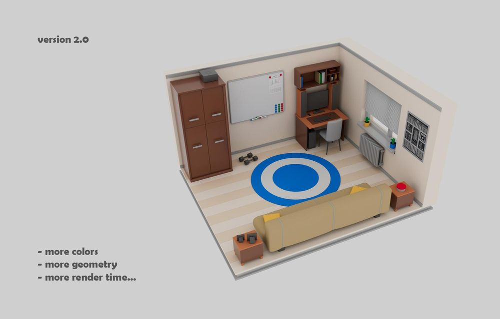 Maya in my Room - image 2 - student project