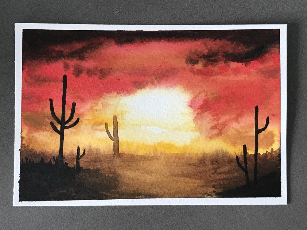 Ultimate guide to Watercolour - image 1 - student project