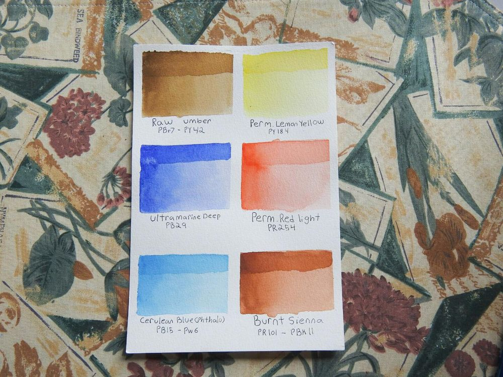 Skin Tone Mixes - image 1 - student project
