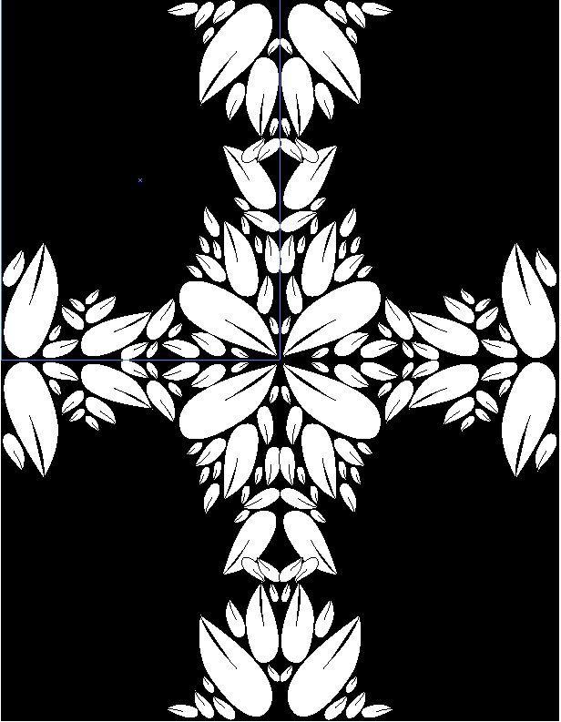 Design Damask Patterns on Adobe Illustrator - image 1 - student project