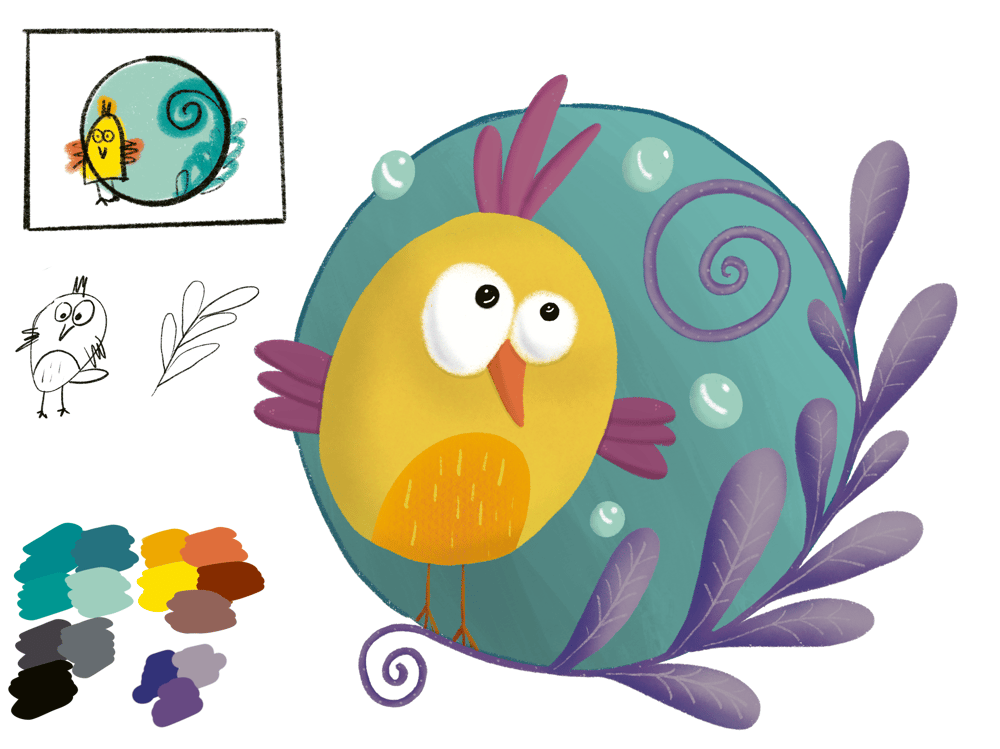 My little birdie - image 2 - student project