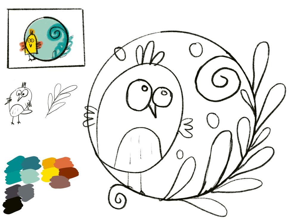 My little birdie - image 1 - student project