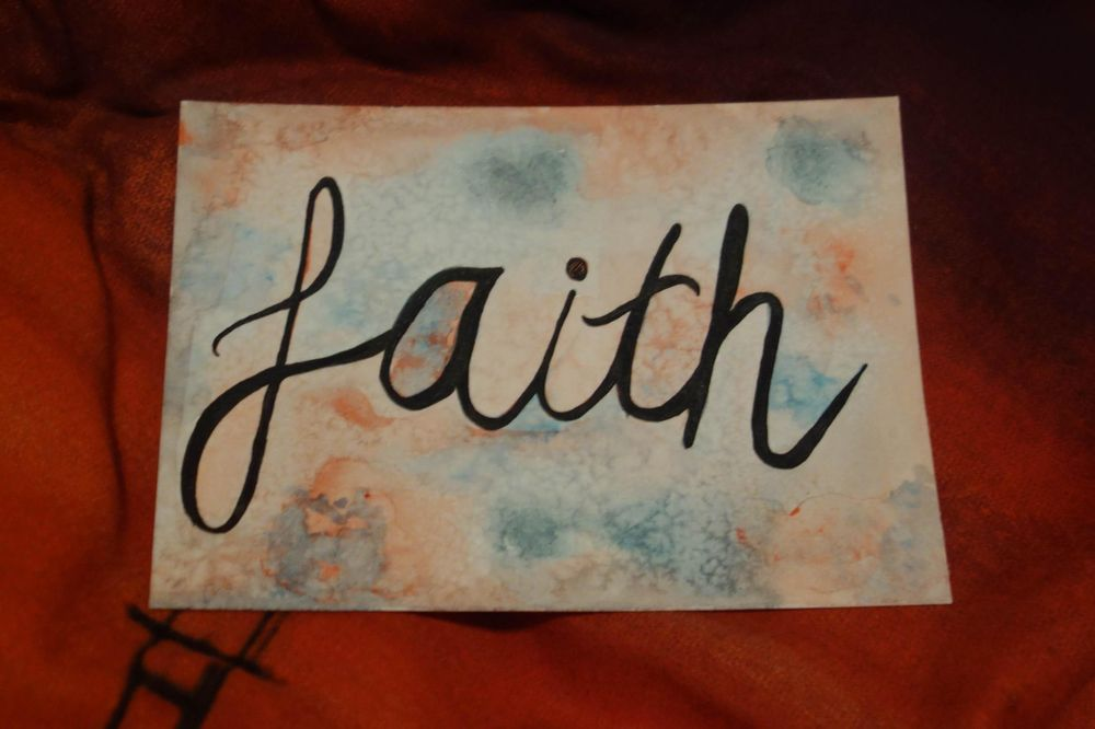 Have faith - image 2 - student project