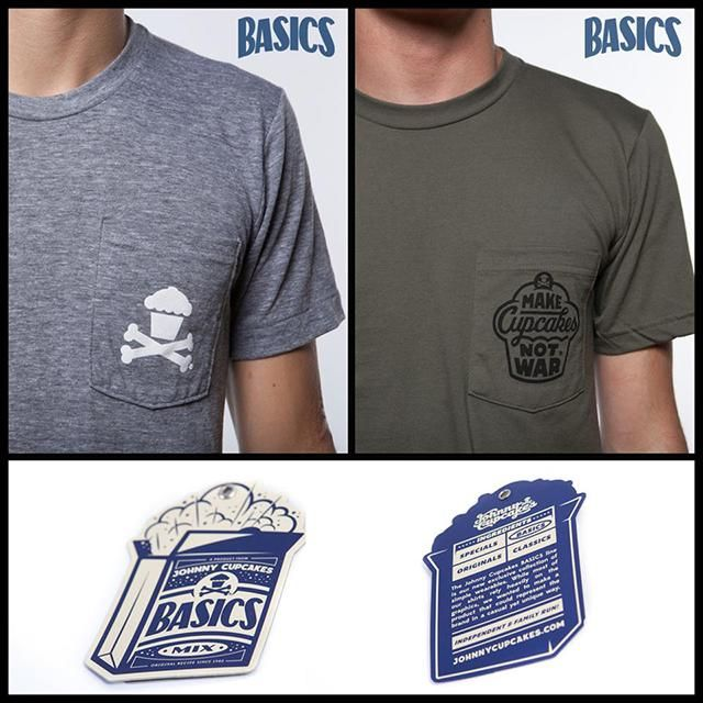 Johnny Cupcakes Basics Tee - image 9 - student project