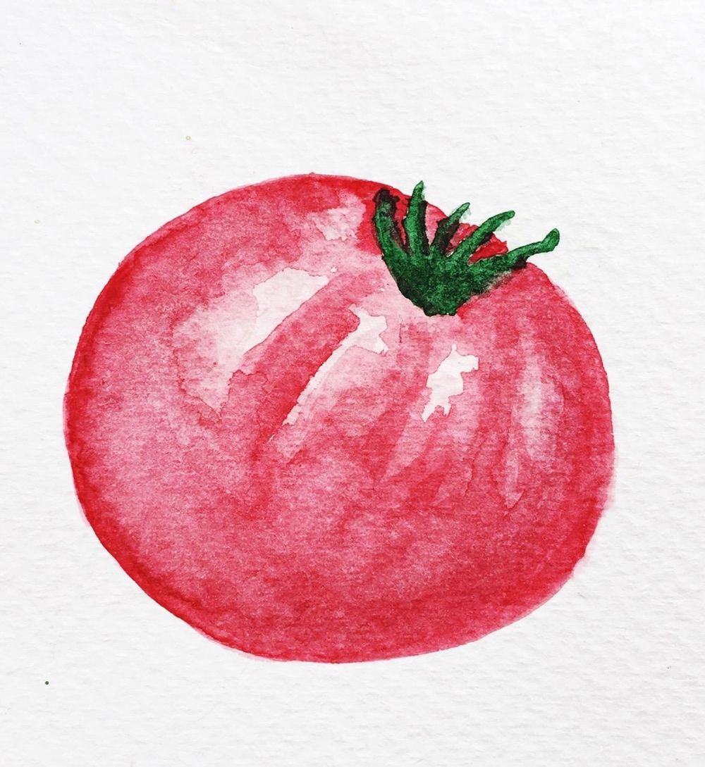 Painting veggies - image 4 - student project