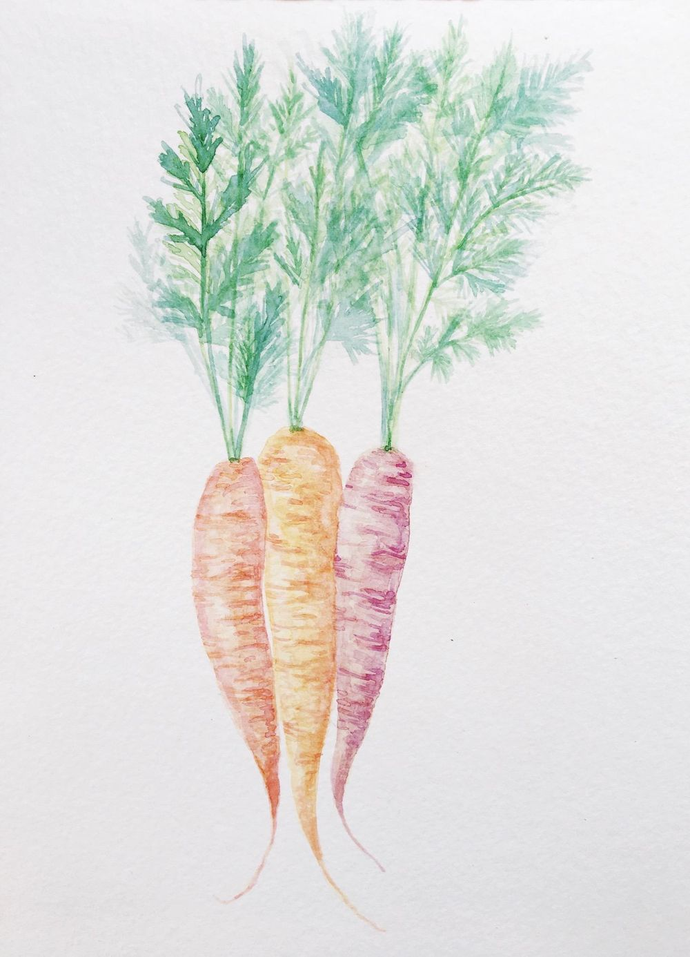 Painting veggies - image 1 - student project