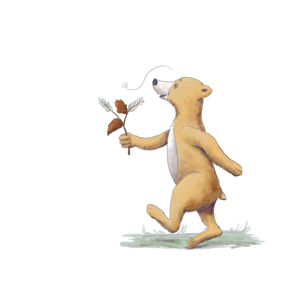 Bear Illustration - image 1 - student project