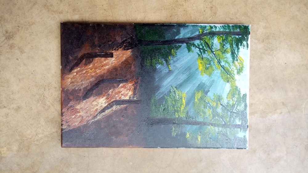Acrylic painting - image 2 - student project