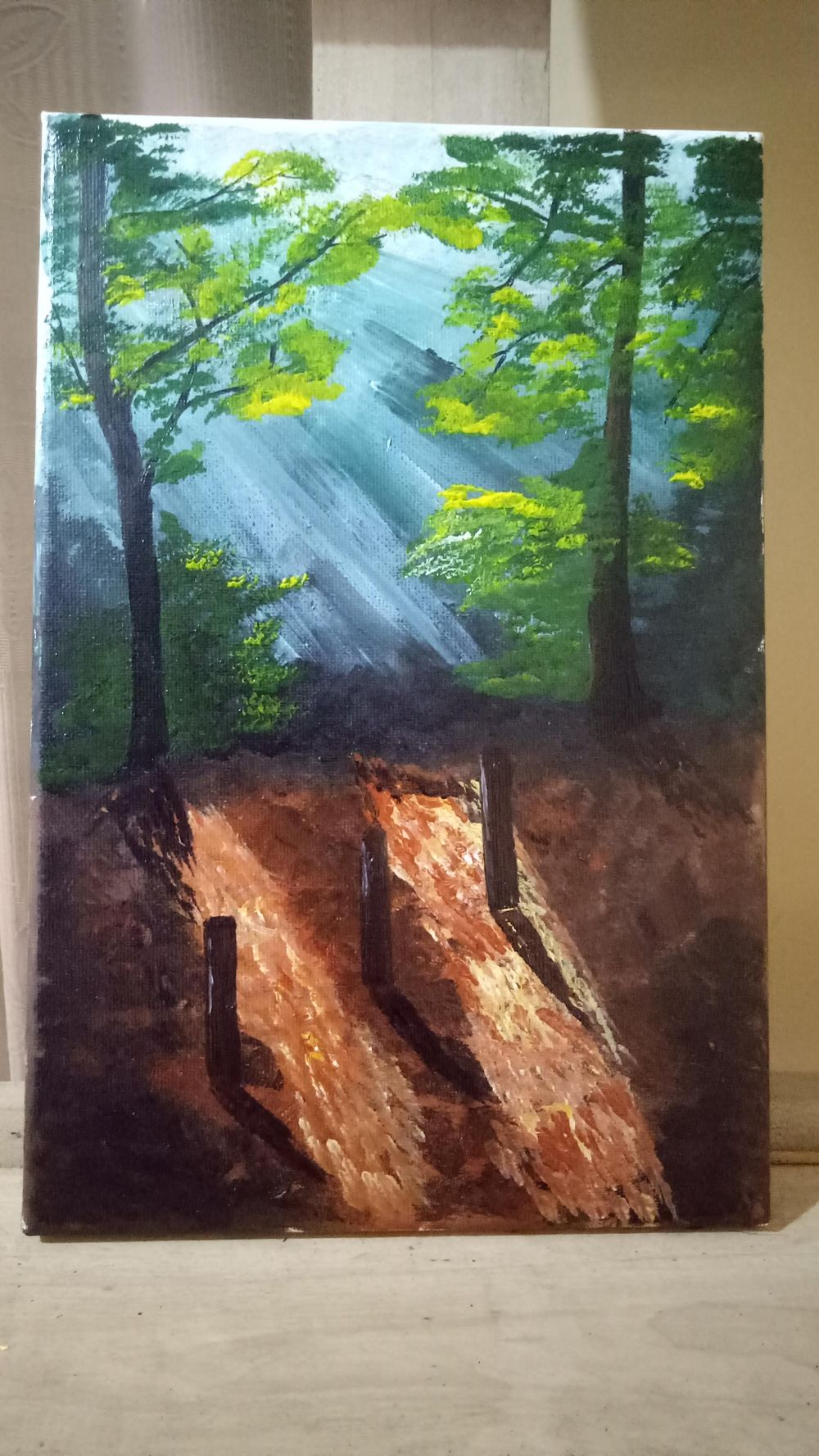 Acrylic painting - image 1 - student project