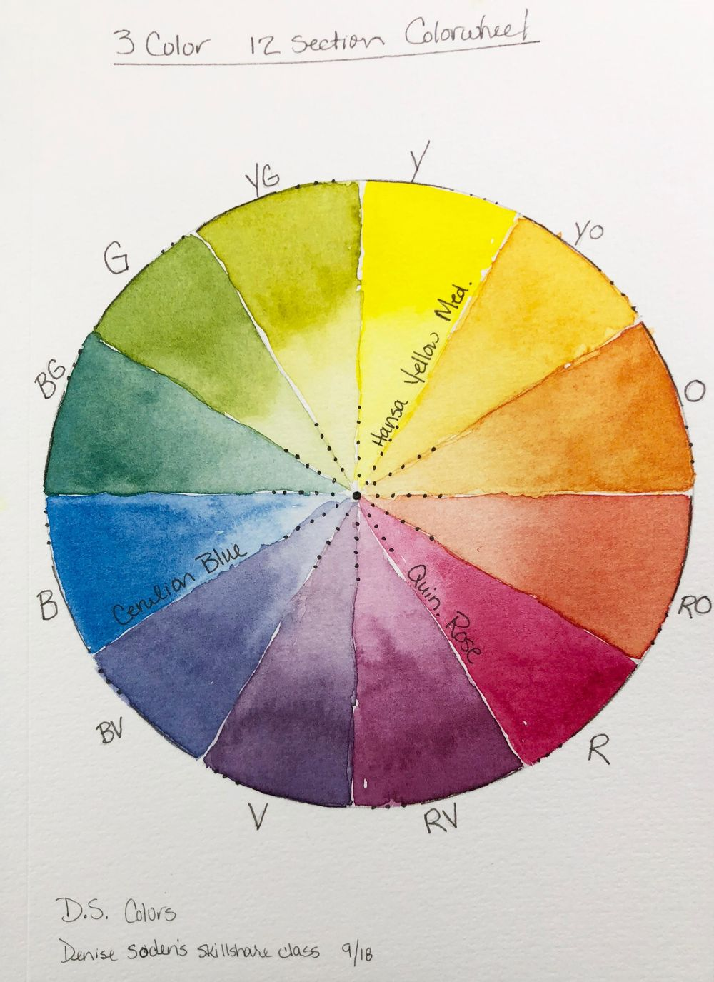 Color Wheels - image 1 - student project