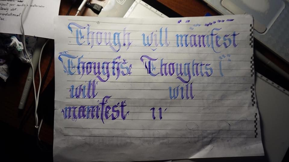 Thoughts will manifest!!! - image 3 - student project