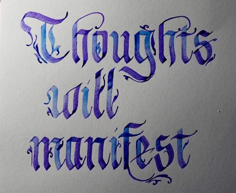 Thoughts will manifest!!! - image 4 - student project
