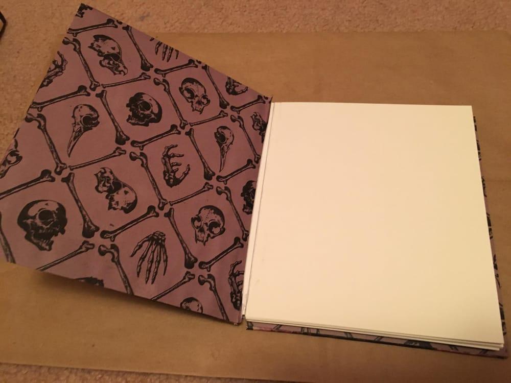 Sketchbook Binding - image 3 - student project