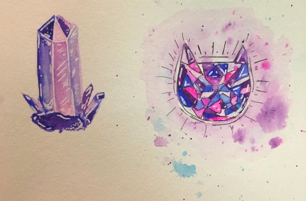 Crystals and Gems Practice - image 1 - student project