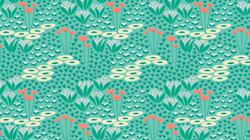Wildflowers pattern - image 5 - student project