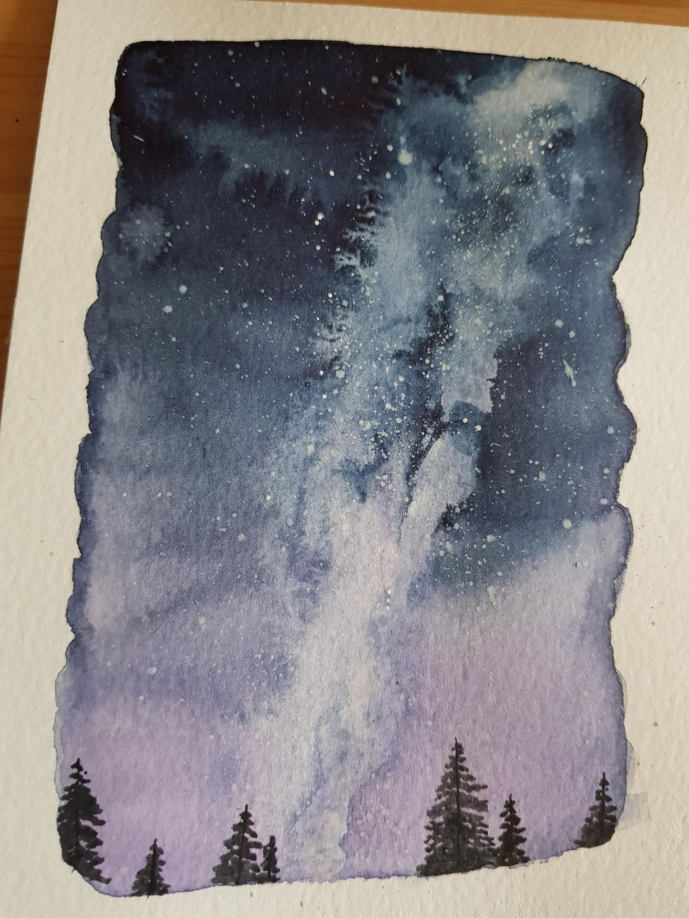 Milky way night sky - image 1 - student project