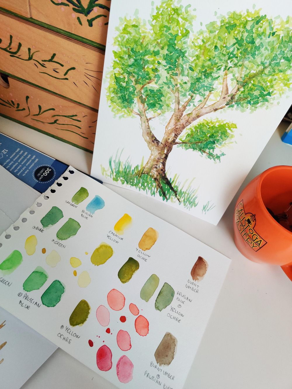 Practice tree : step by step - image 4 - student project