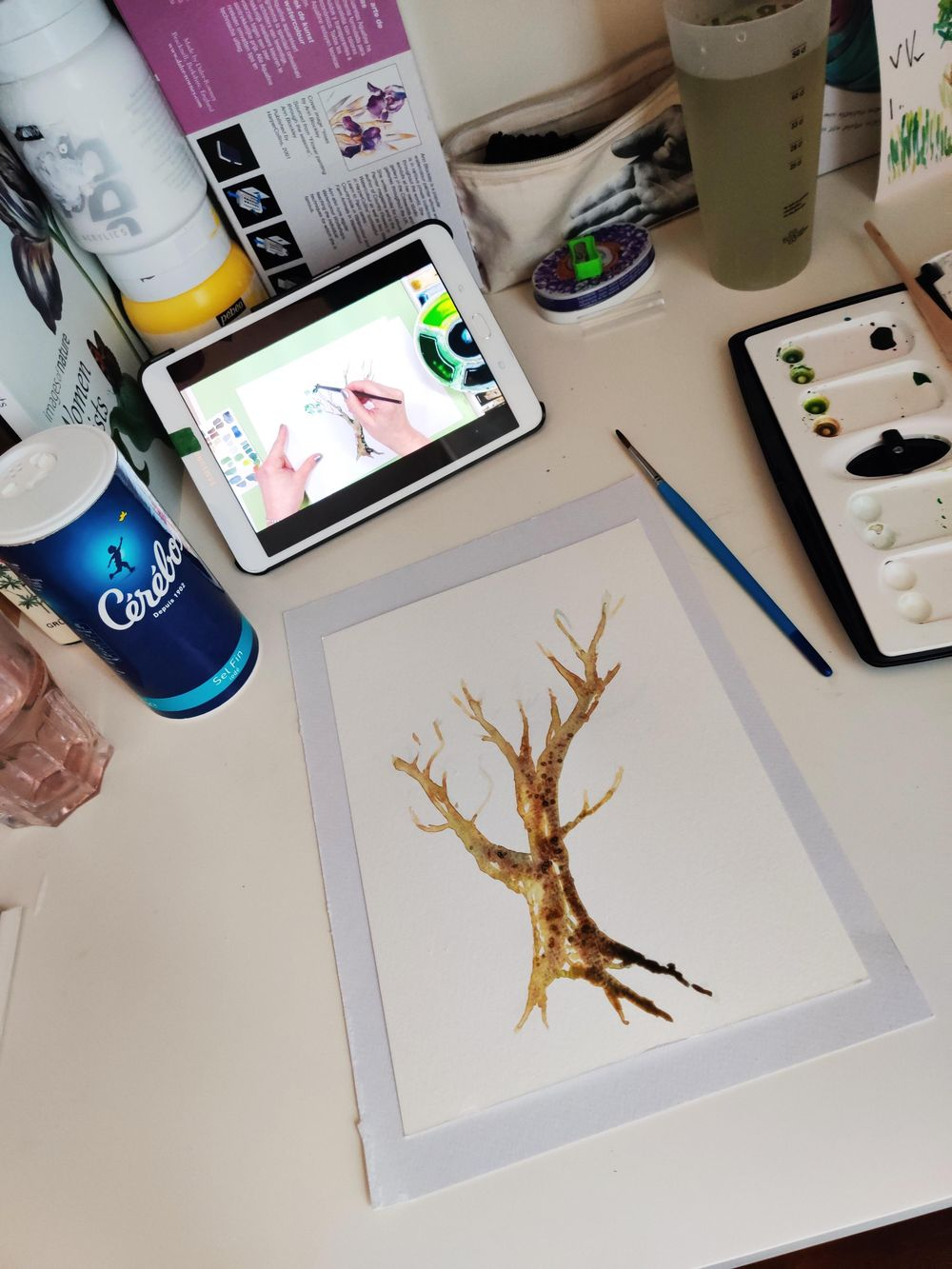 Practice tree : step by step - image 2 - student project
