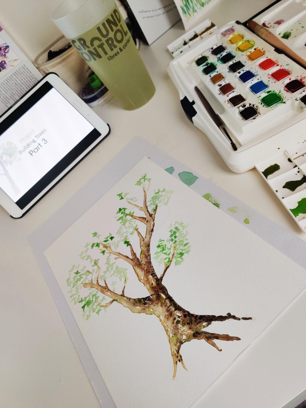 Practice tree : step by step - image 3 - student project
