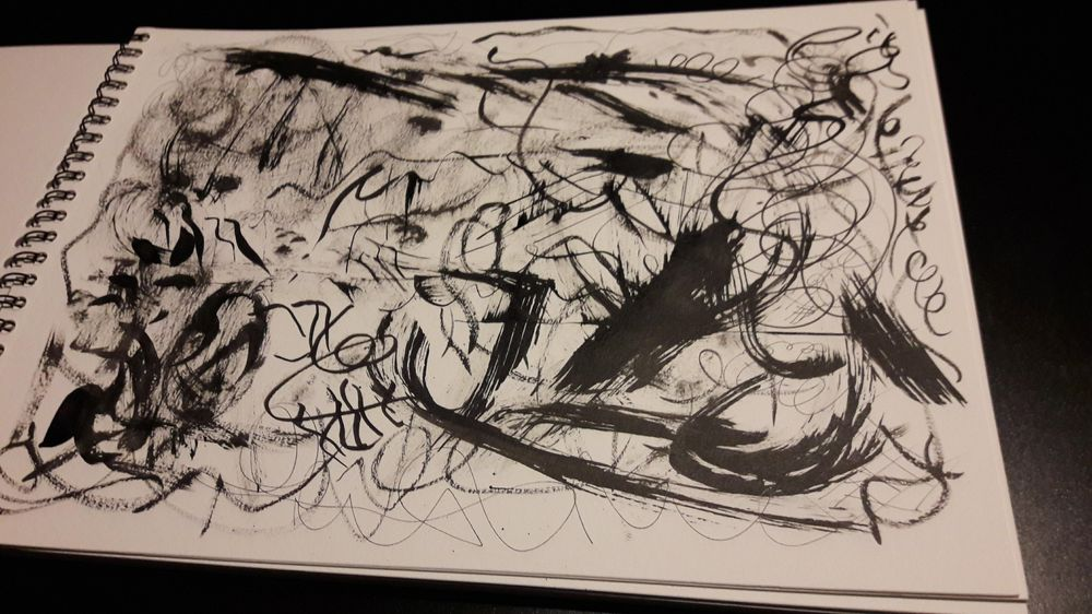 Inking exercises - image 4 - student project