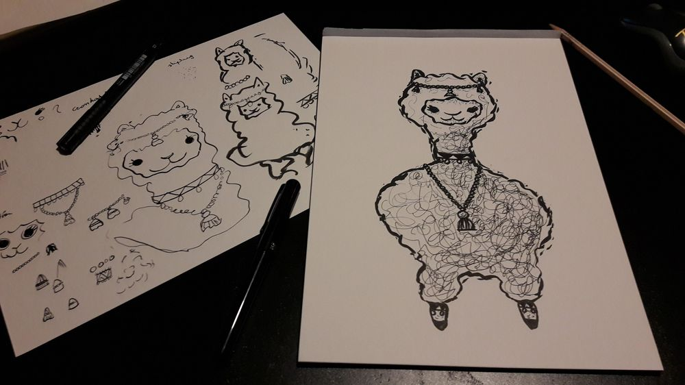 Inking exercises - image 5 - student project