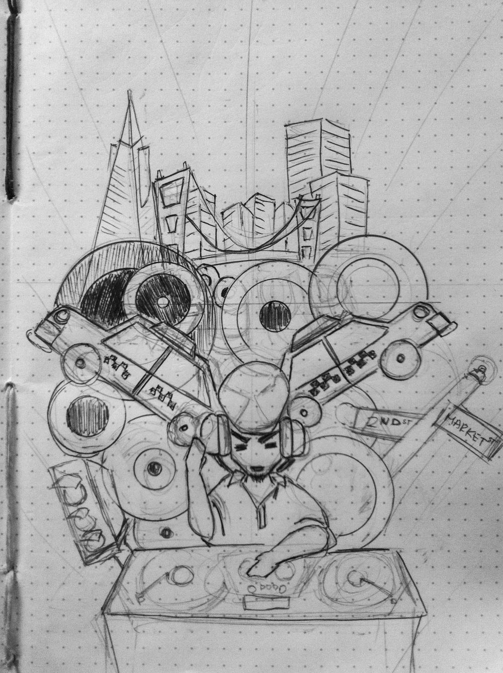 """The City Never Sleeps: """"Loud"""" - image 1 - student project"""