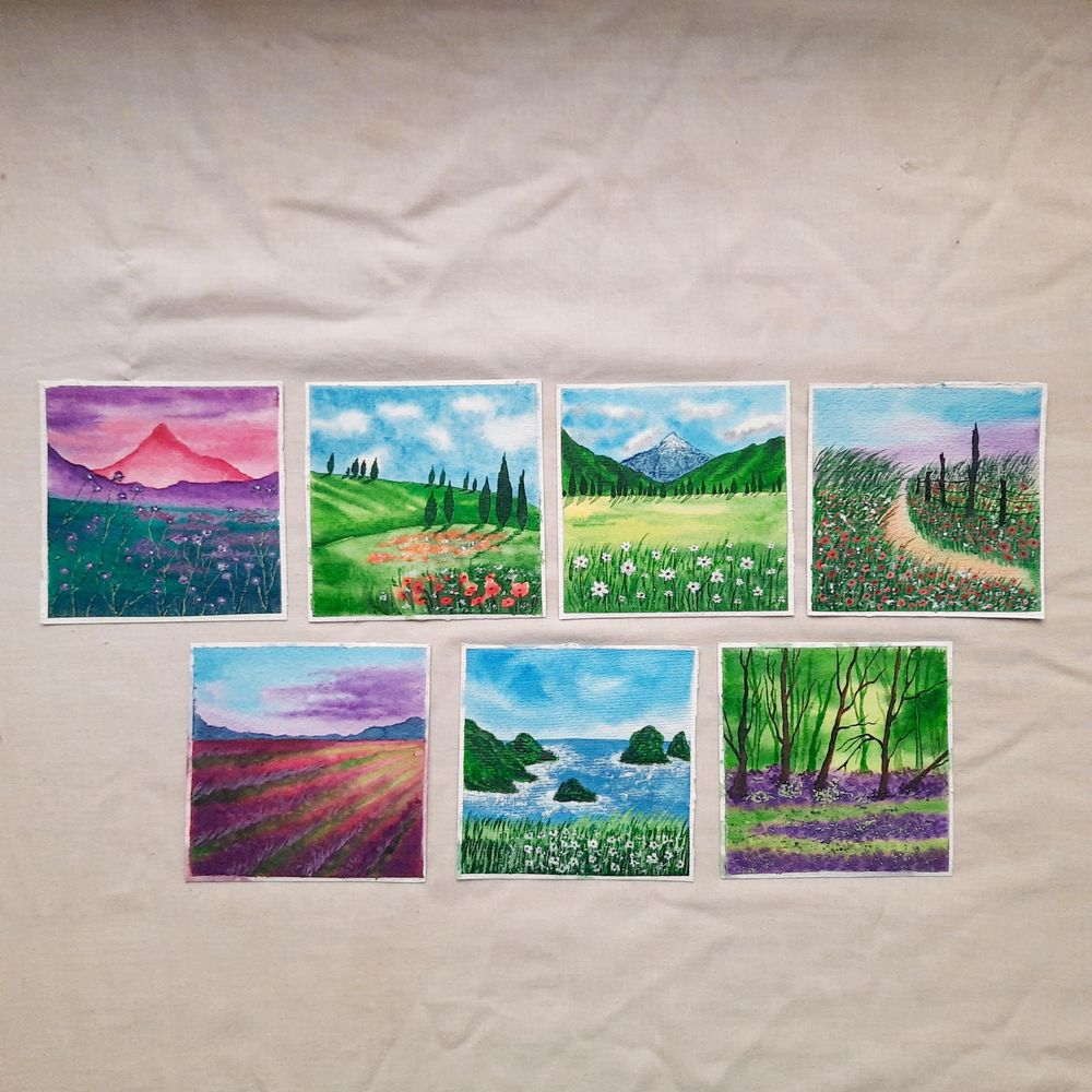 30 Day Watercolor Challenge : Let's Celebrate World Watercolor Month - image 1 - student project