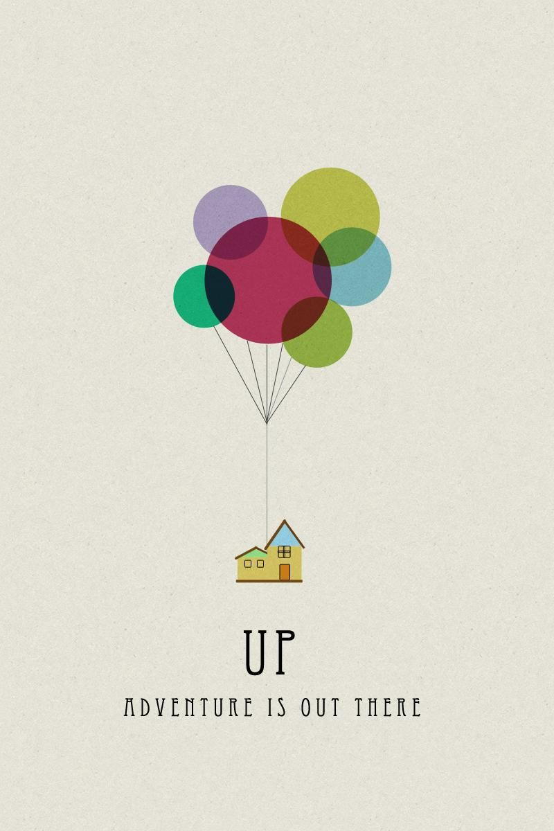 My Retro UP Movie Poster - image 1 - student project
