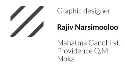 business card structure 1 - image 2 - student project