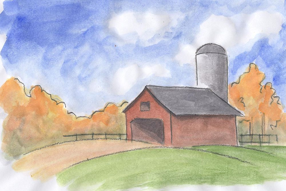 Watercolor Sketches - image 3 - student project