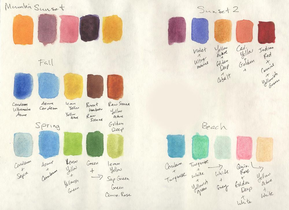 Watercolor Sketches - image 1 - student project