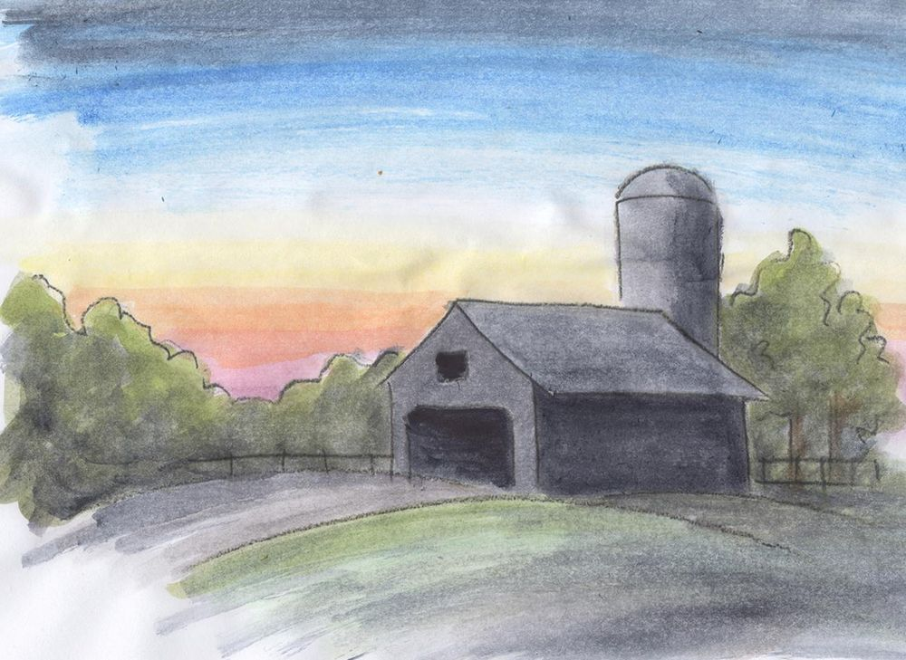 Watercolor Sketches - image 5 - student project