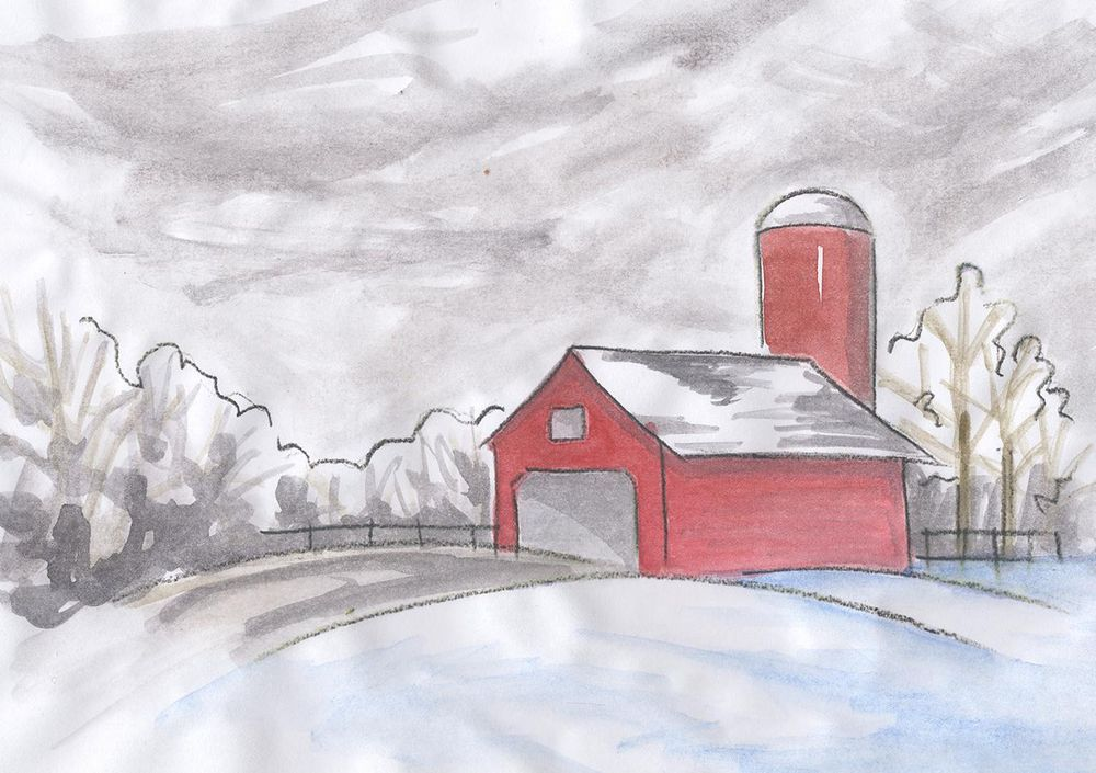 Watercolor Sketches - image 4 - student project