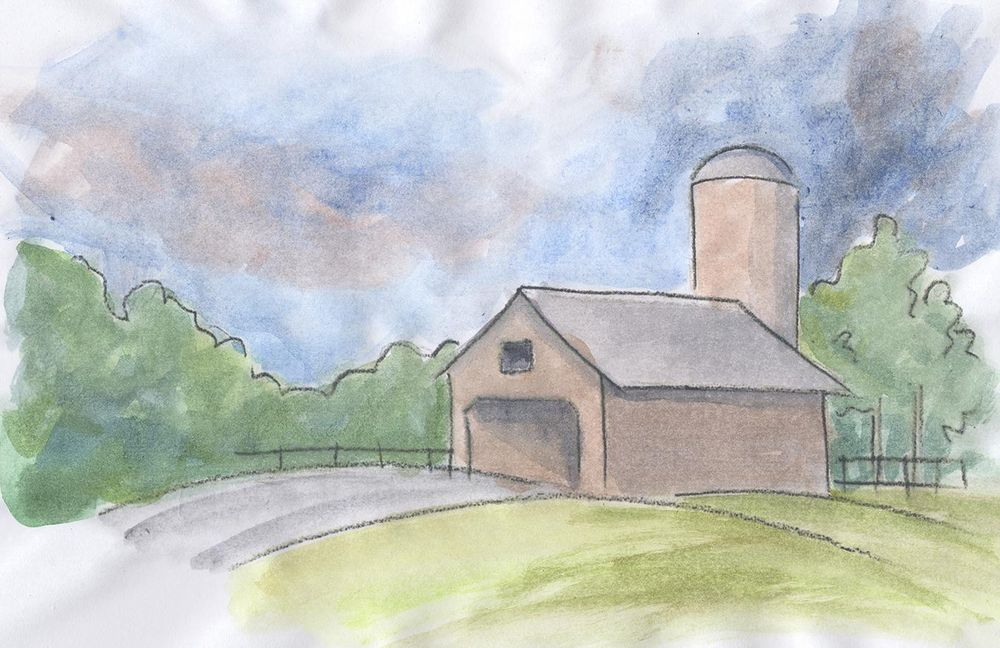 Watercolor Sketches - image 2 - student project