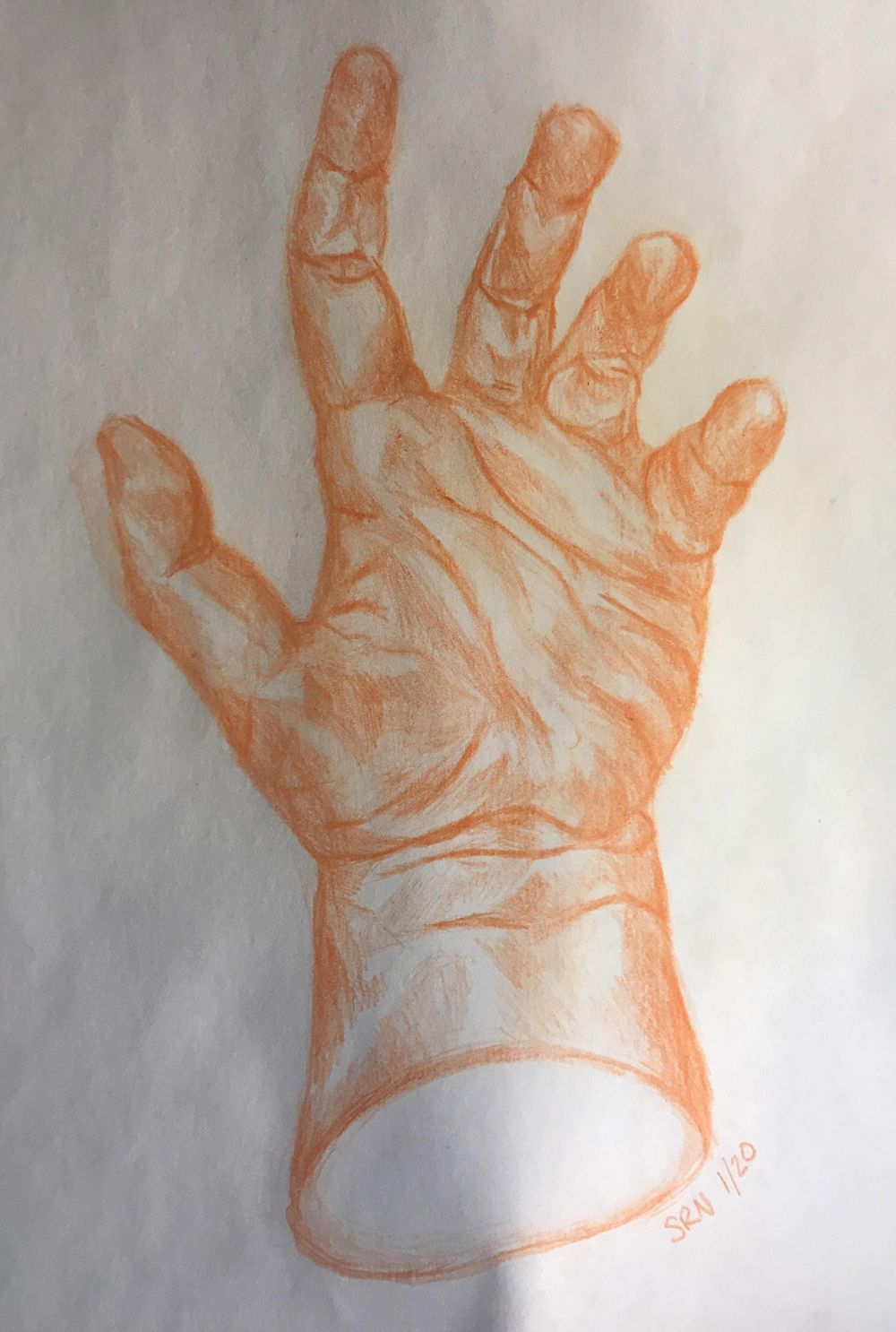 Drawing Hands Class Project - - image 2 - student project