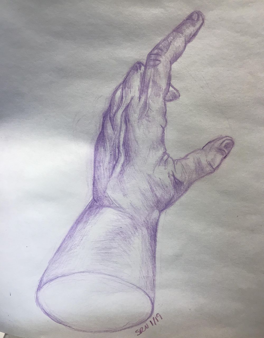 Drawing Hands Class Project - - image 1 - student project