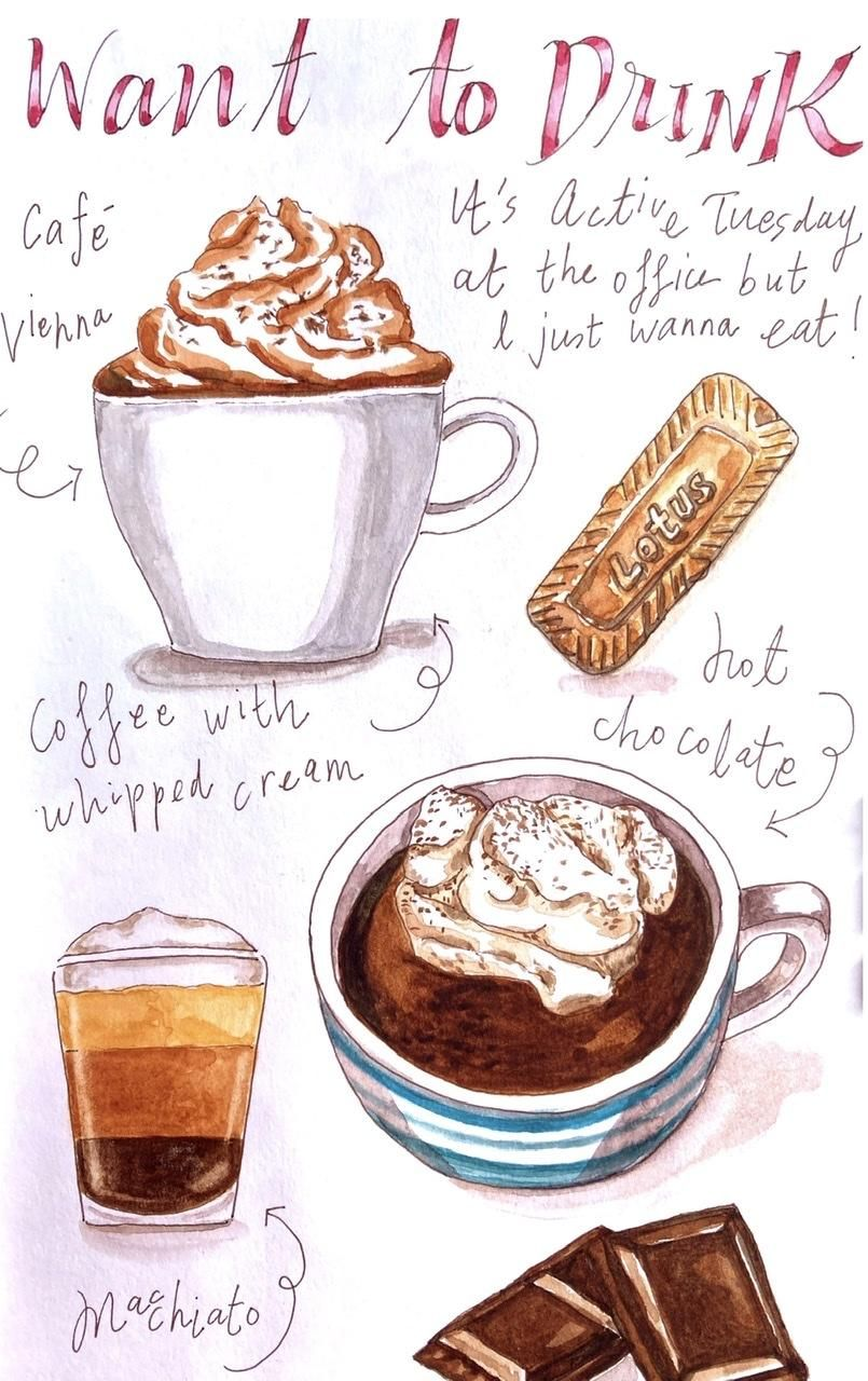 Coffee and chocolate - image 1 - student project