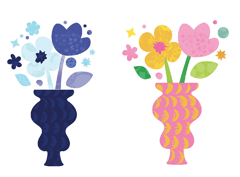 Vase & Flowers - image 3 - student project