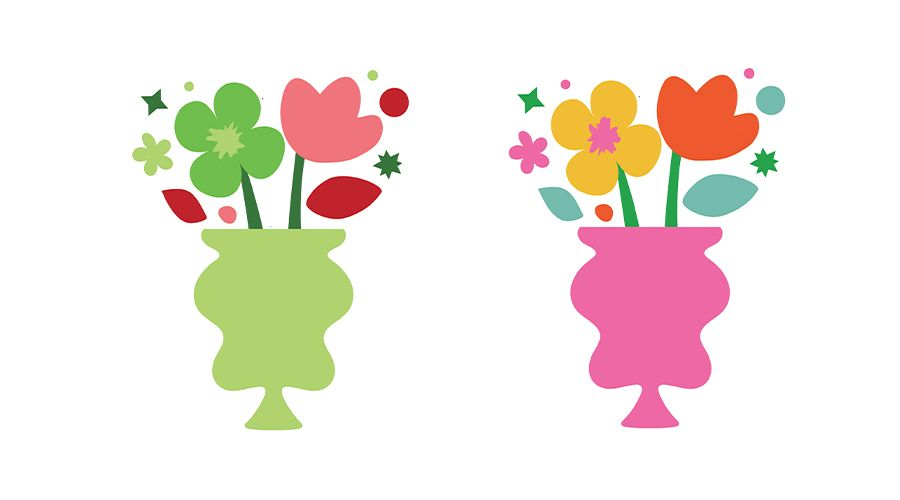 Vase & Flowers - image 1 - student project