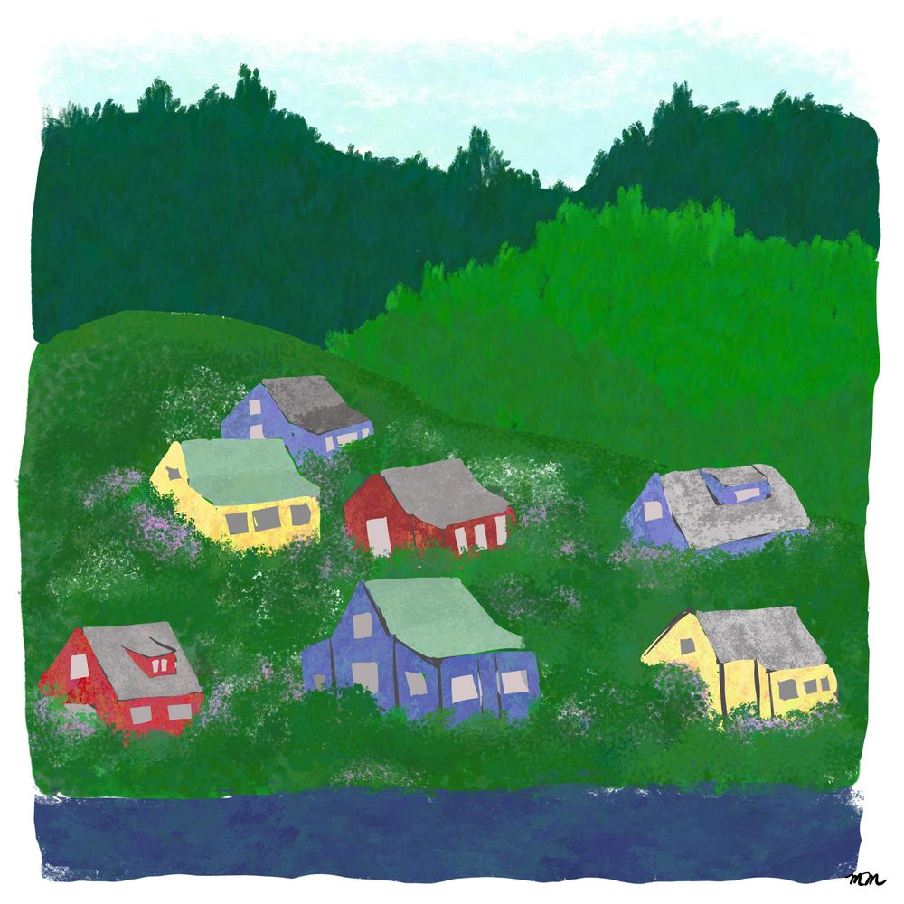 Hillside Village - image 1 - student project