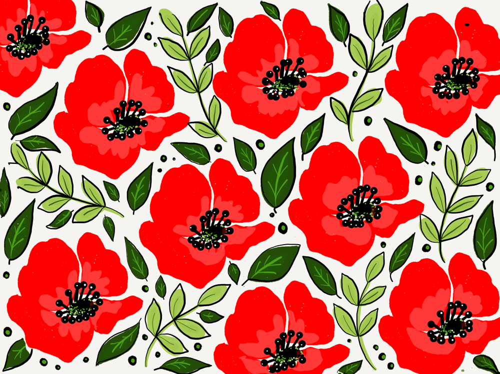 Colorful Florals Using Paper 53 - image 1 - student project