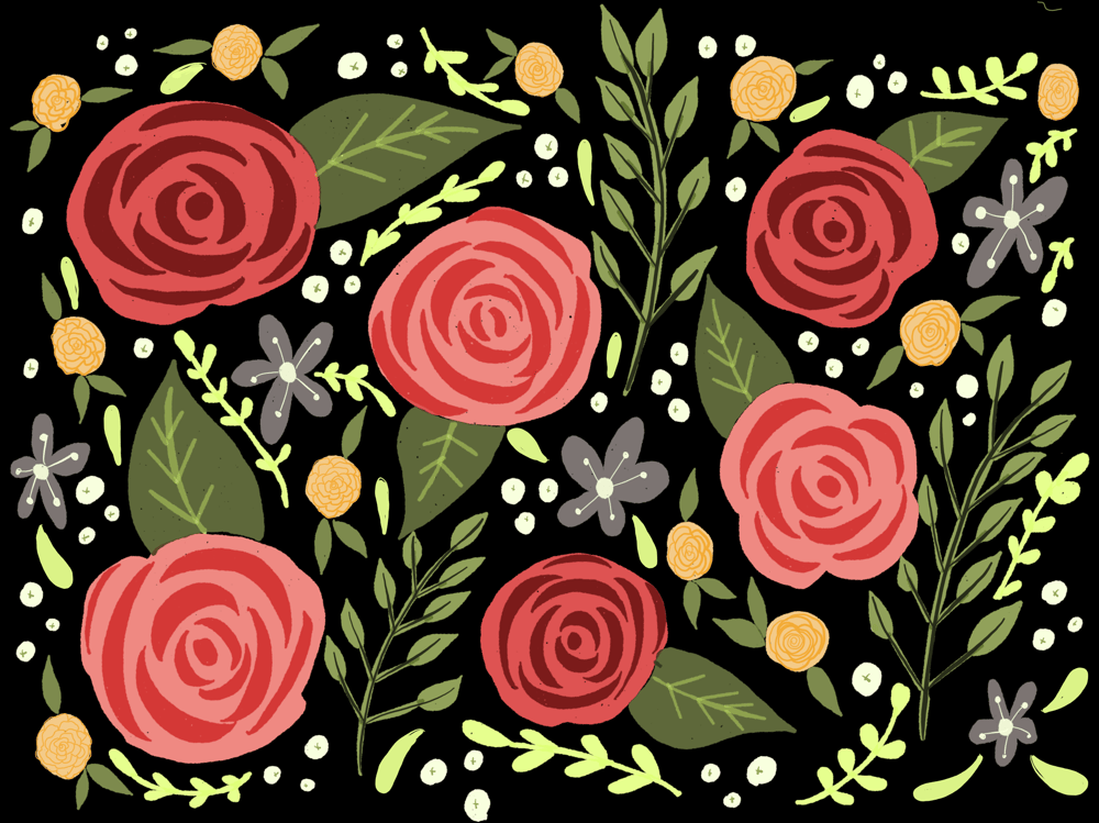 Colorful Florals Using Paper 53 - image 3 - student project