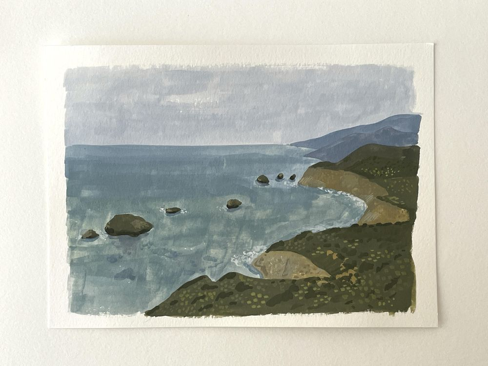 Sea scape - image 1 - student project