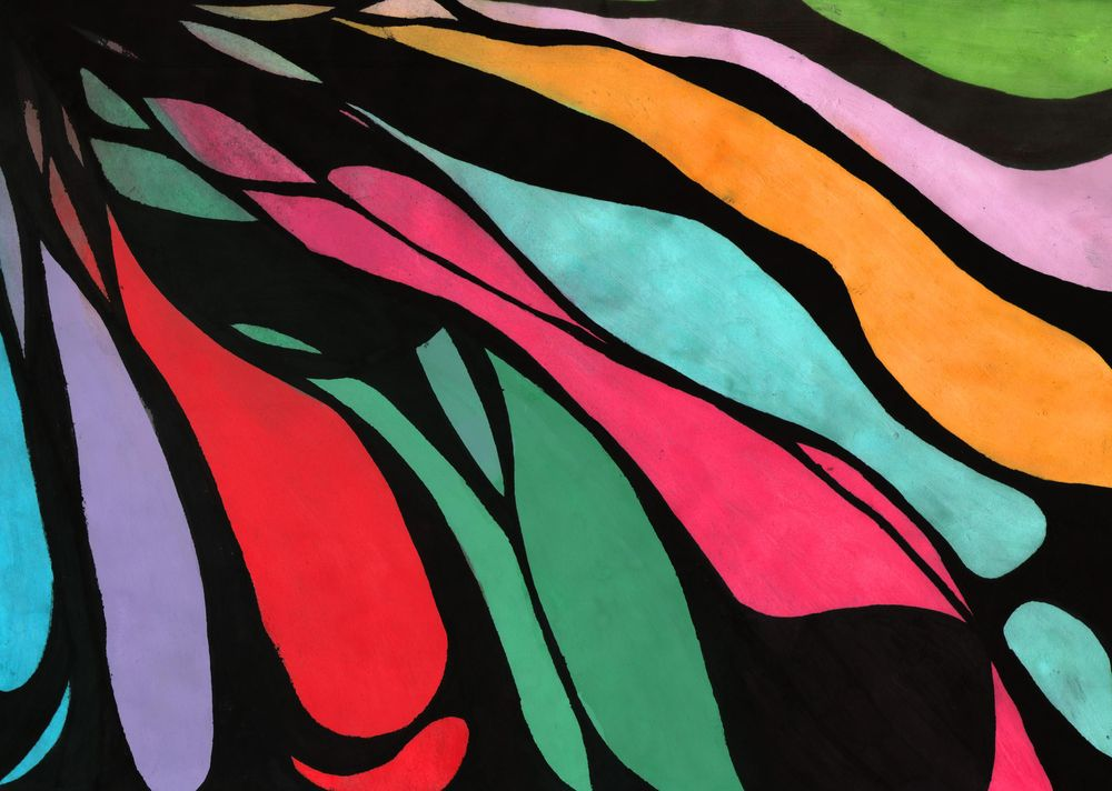 Waves of colors - image 1 - student project