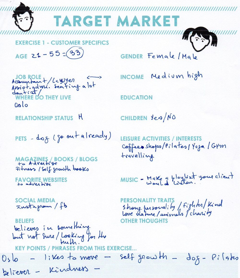 Hanne - Target Client - image 4 - student project
