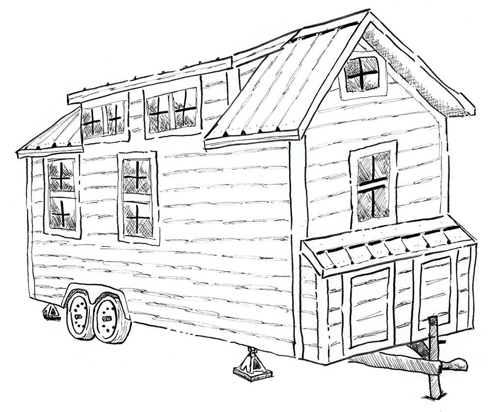 Tiny House On Wheels - image 1 - student project