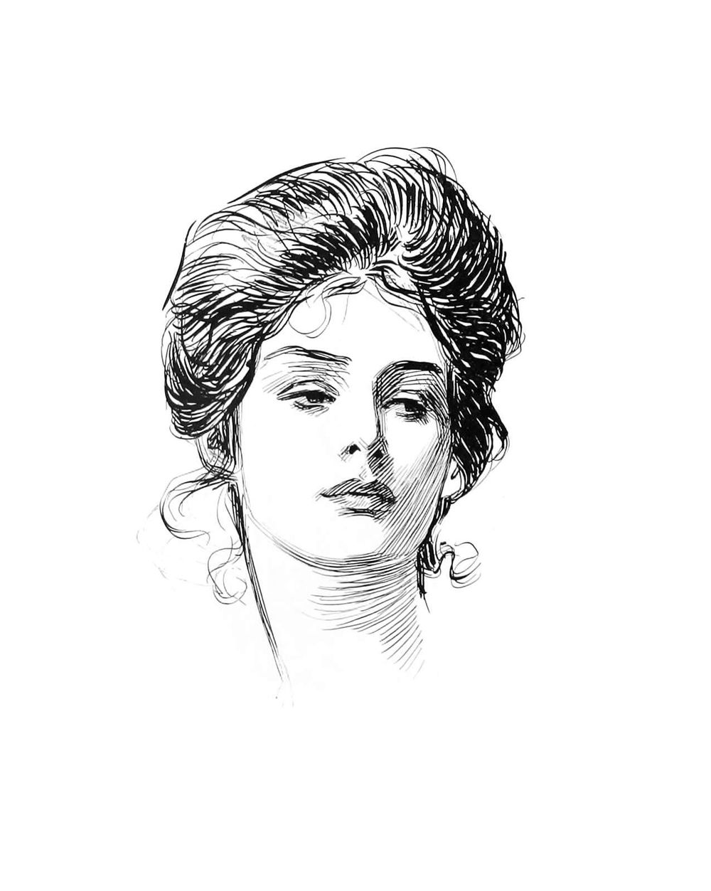 A Lady in Summer - image 2 - student project