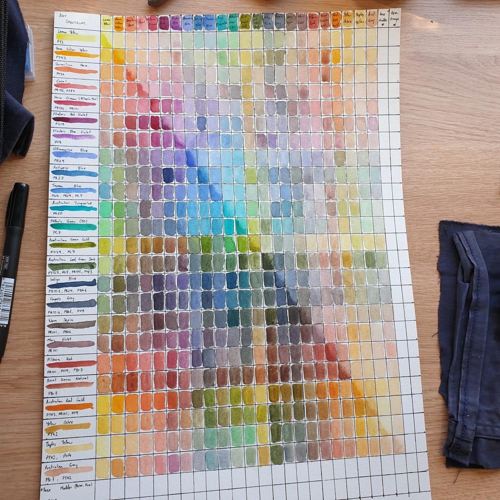 Art Spectrum Palette - image 2 - student project