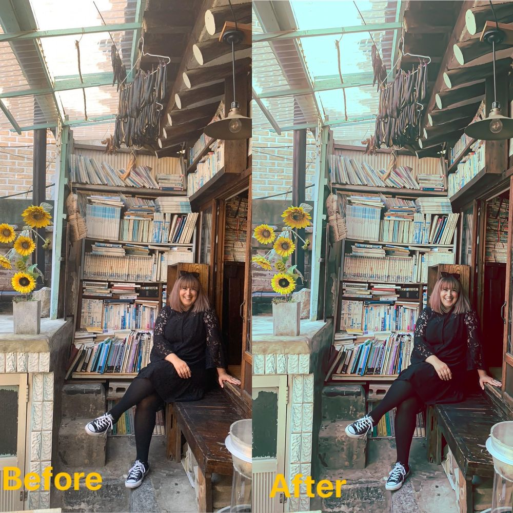 Before & After with Lightroom Mobile - image 2 - student project