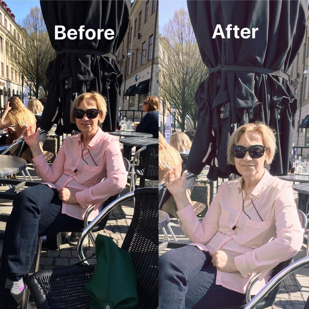 Before & After with Lightroom Mobile - image 1 - student project
